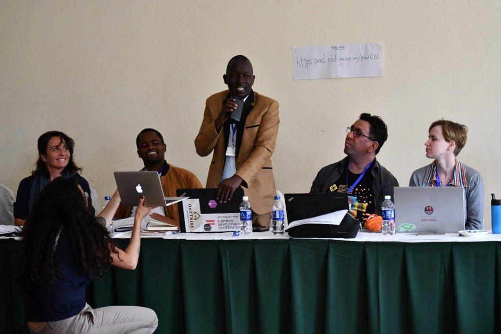 Solomon represents BOSCO Uganda at the APC Inception meeting in Nairobi