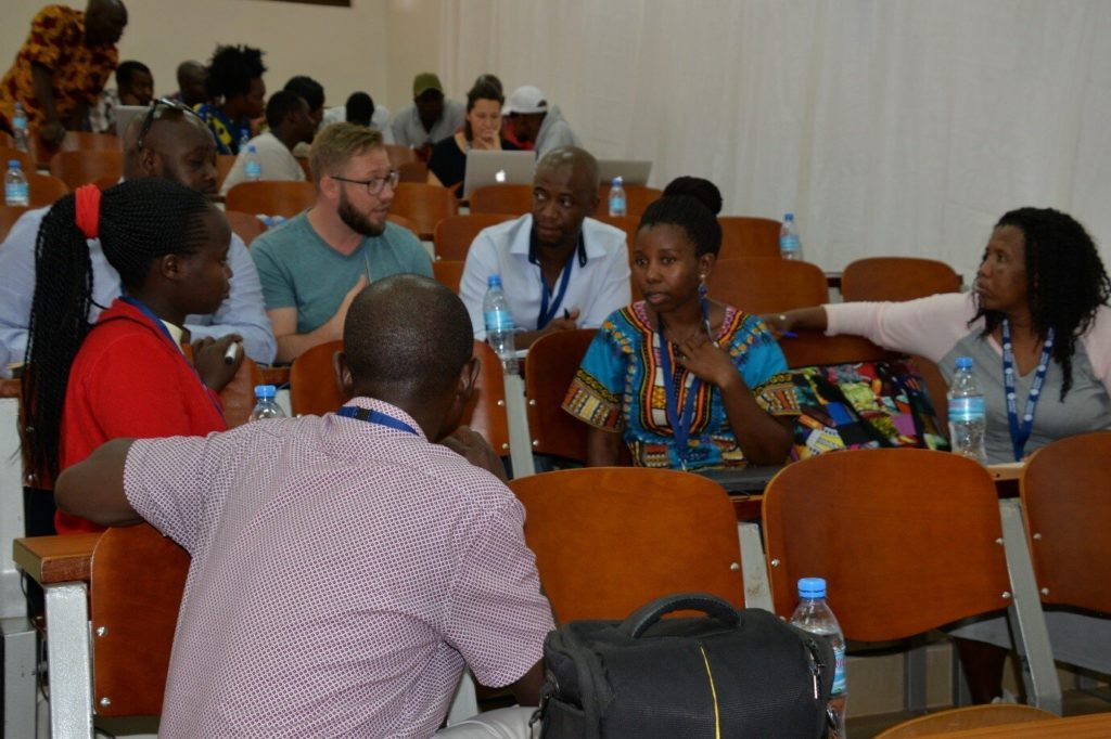 Delegates share ideas at the 2019 community network summit