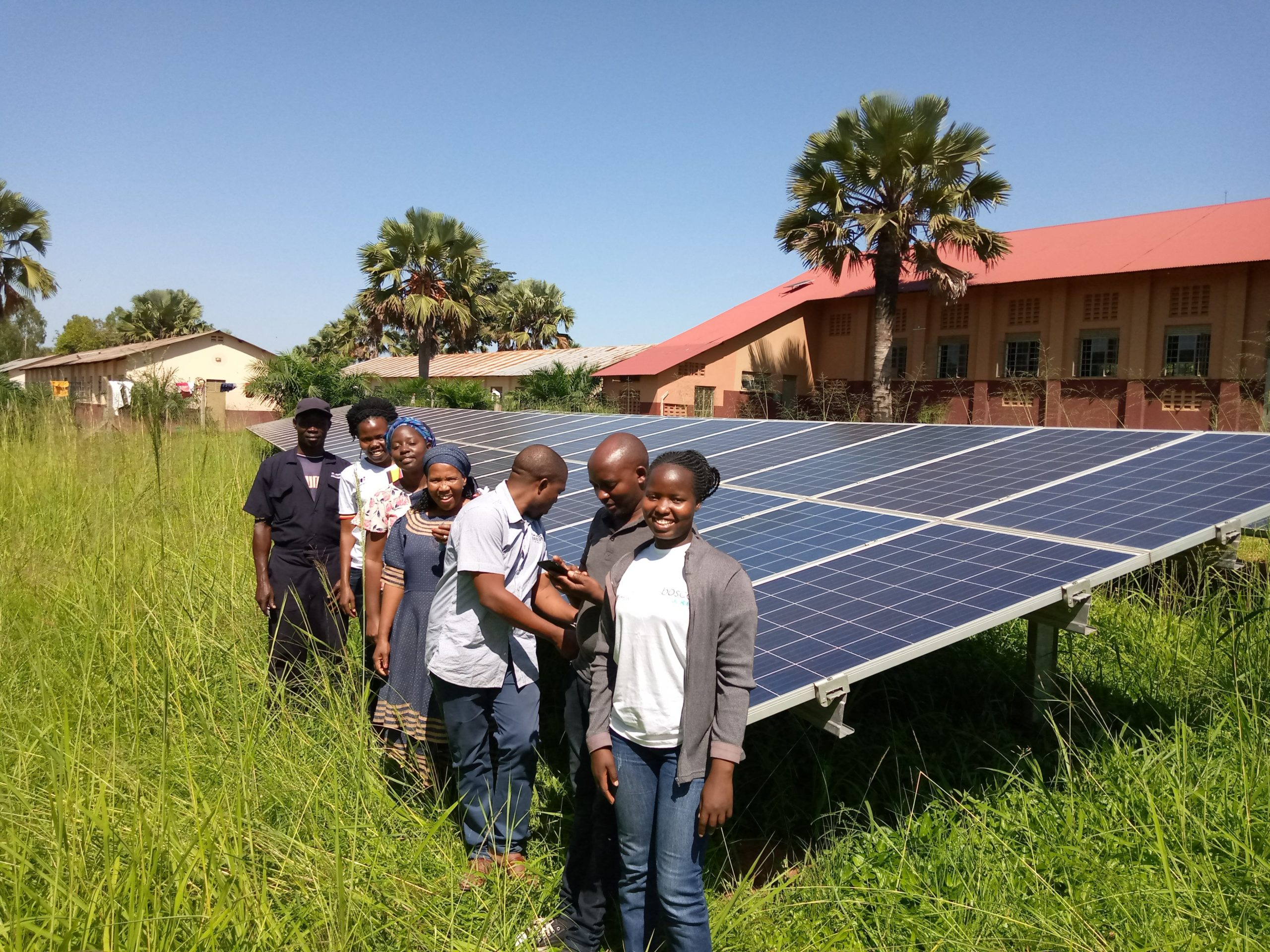 Community network peers from Malawi, Tanzania and South Africa visited BOSCO Uganda in 2019